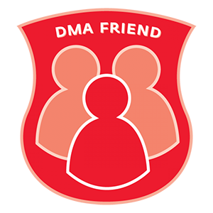 Example of a partner badge